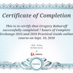 Exchange 2013 and 2016 Practical Guide Course Certification Greg Baharoff