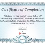 Exchange Hybrid Migration of Office365 Certification
