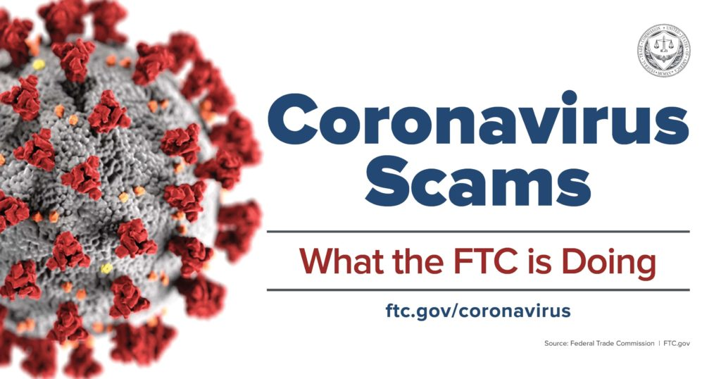 coronavirus scams what is the FTC doing